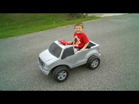 Custom Ride Ons - Super 6 Ford F-150 - 6V to 12V Upgrade - by Chris Hozian - Modified Power Wheels