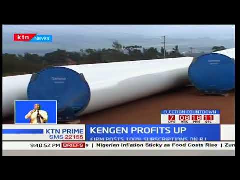 KenGen records 34 percent profit after tax reporting a Sh9Bn profit