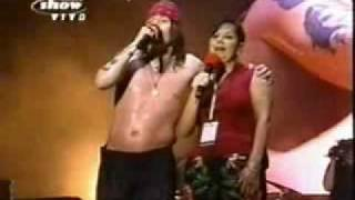 Axl Rose thanks Beta in RIR 3, 2001