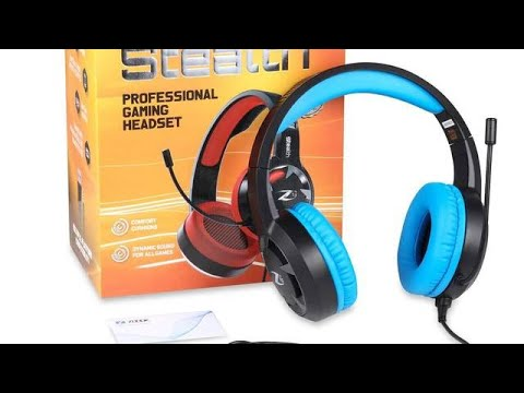 Zoook Rocker Stealth Professional Gaming Headset with 7.1 Stereo Surround Sound