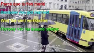 Learn French By Stromae   Formidable Wonderful French English German Russian LYRICS SUBTITLES