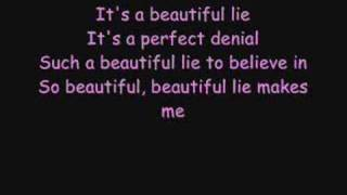 30 Seconds to mars - A beautiful lie Lyrics