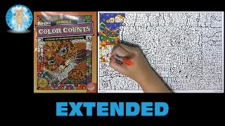 Mindware Color Counts Animals Coloring Book Horses Extended