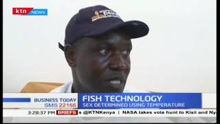 A University in Eldoret introduces a new fish farming technology