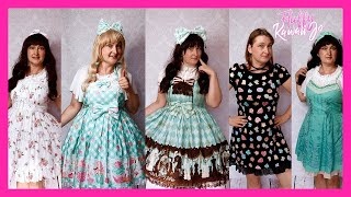 Tons Of NEW Lolita Dresses! Angelic Pretty Haul And More!