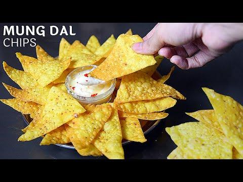 👌क्रिस्पी और सेहत से भरपूर मूंगदाल की एसी चिप्स खाकर नचो चिप्स खाना भूल जाएंगे |Crispy MungDal Chips