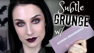 REBIRTH OF THE MODERN RENAISSANCE - Subtle Grunge Look Using Lesser-Used Shades