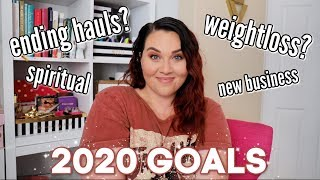 2020 GOALS: Life, Weight, Business, and Financial Goals | Sarah Rae Vargas