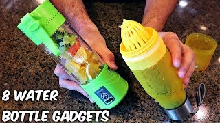 8 Water Bottle Gadgets from GearBest