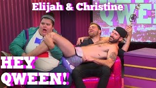 ELIJAH DANIEL & CHRISTINE SYDELKO on HEY QWEEN! With Jonny McGovern
