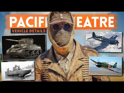 PACIFIC THEATRE CONFIRMED?! New American & Japanese Vehicles DATA MINED! - Battlefield 5