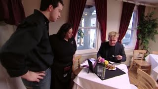 Gordon Ramsay is DISGUSTED with RAW lamb lollipops ( Kitchen Nightmares )