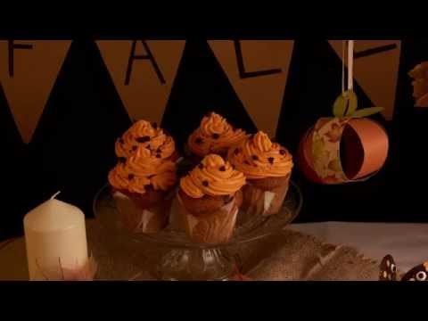 Halloween receptidee voor herfst cupcakes