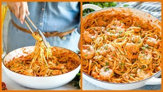 How To Make Quick And Easy Seafood Marinara Linguine