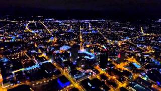 Flying a drone over Rochester New York