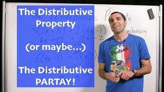Algebra - The Distributive Property