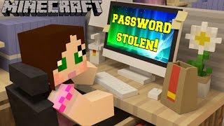 Minecraft: MY PASSWORD WAS STOLEN?!? - Custom Mod Dream