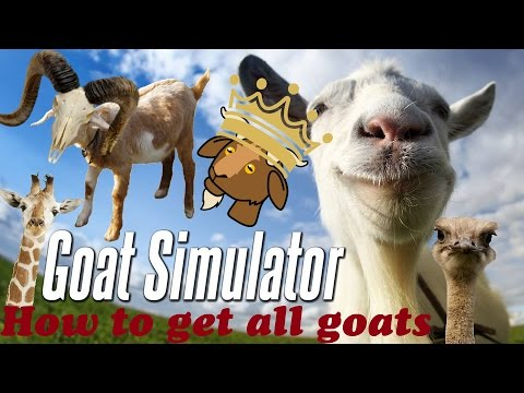 goat simulator ios astuce