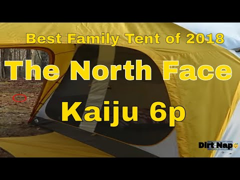 The North Face Kaiju 6p Review Best Family Tent 2018