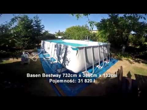 Basen Bestway - Bestway pool - 732x366x132