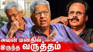 Director Visu reveals unknown side of Crazy Mohan | Emotional Interview | About Tamil Drama