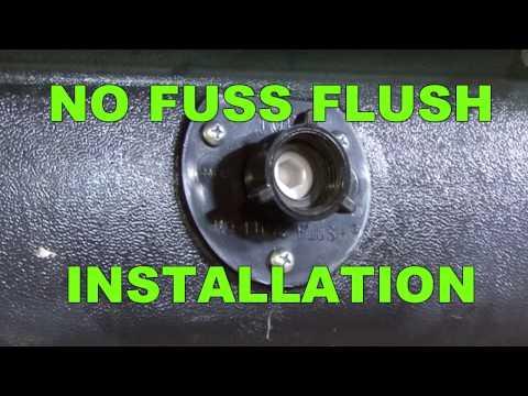 Rv Holding Tank Flush Installation Rv Diy 174 Channel With