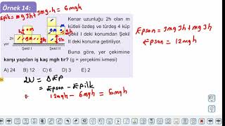 Eğitim Vadisi 11.Sınıf Fizik 10.Föy Enerji ve Hareket 3 (Potansiyel Enerji) Konu Anlatım Videoları