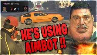 Grown Men RAGE Saying I Have A Modded PS4!! (GTA Online)