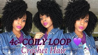GRWM: Hair&Trying New Makeup| X-Pression 4c-COILY Loop| Divatress.com| Ruby Kisses&Absolute NewYork