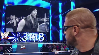 The Shield and 3MB barge in on Triple H's return to SmackDown: SmackDown, April 12, 2013 | Kholo.pk