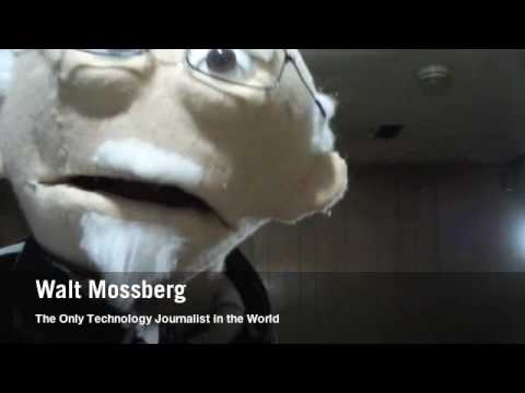 Walt Mosspuppet's Ode To iPad Haters