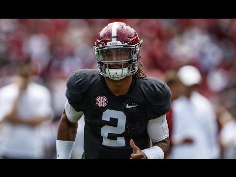 Alabama A-Day Game Highlights 2017 (HD)