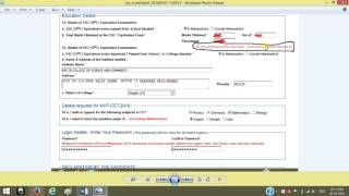HOW TO FILL / APPLY MHT-CET 2016 APPLICATION FORM FOR ENG/MED