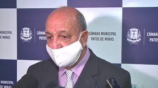 Ex-prefeito José Eustáquio depõe a CPI da Copasa e afirma que houve negociações sobre cobrança da taxa de esgoto, mas decisão judicial impediu o avanço