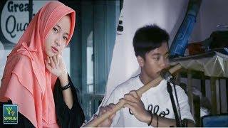 Deen Assalam - Nissa Sabyan -  Instrumen Seruling Bambu Bikin Hati Sejuk