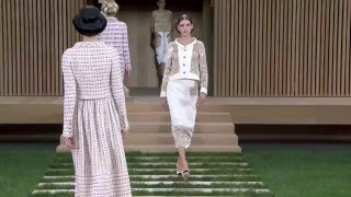 Показ мод CHANEL Весна-Лето 2016 / Spring Summer 2016 Haute Couture Show CHANEL
