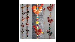 DIY Bird Door Hanging / Felt Bird Door Hanging/ Rajasthahi Style Thoran