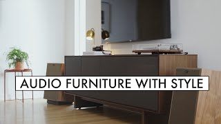 Mid Century HiFi Furniture - BDI Octave Media Console Review