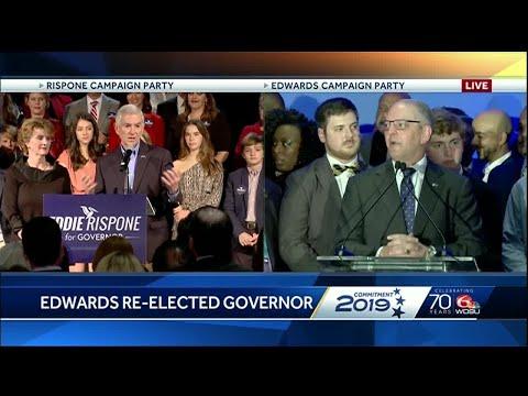 PROJECTION: John Bel Edwards edges Eddie Rispone to remain Louisiana governor
