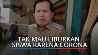 Viral Wali Kota Prabumulih Tak Mau Liburkan Siswa karena Covid-19, Penyakit Bukan untuk Ditakuti