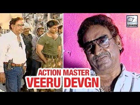Veeru Devgn Directing Action Stunts For Suniel Shetty | Flashback Video