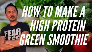 """How To Make A High Protein Green Smoothie Using Hemp Seeds"