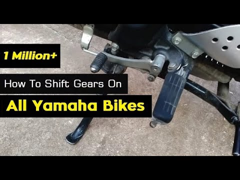 How To Shift Gears On Motorcycles Like In Yamaha FZ16 | FZ S | Fazer | R15 S Model Bikes | India