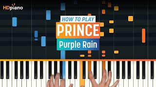 """ALL PARTS FREE – How To Play """"Purple Rain"""" by Prince 