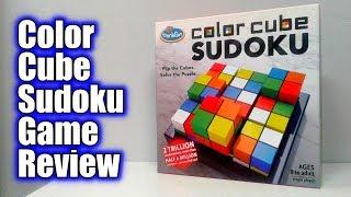 Color Cube Sudoku | ThinkFun