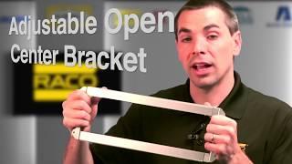 video: RACO: Adjustable Open Center Bracket