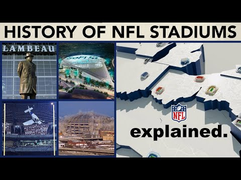 Evolution of Every NFL Team's EVERY Stadium | NFL Explained