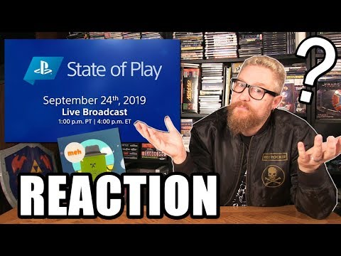 SONY STATE OF PLAY REACTION - Happy Console Gamer