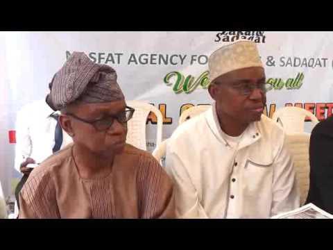 NASFAT AGENCY FOR ZAKAT AND SADAQAT (NAZAS) 2017 ANNUAL GENERAL MEETING