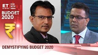 Demystifying Budget 2020 | Ravi Dharamshi & Nilesh Shah To ET NOW